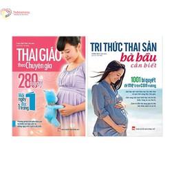 Combo Cẩm Nang Thai Giáo :thai giáo theo chuyên gia + tri thức thai giáo