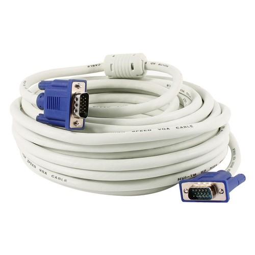 Dây cáp VGA cho máy chiếu, máy tính, màn hình LCD trắng 15m|20m - 10644666 , 20159250 , 15_20159250 , 79000 , Day-cap-VGA-cho-may-chieu-may-tinh-man-hinh-LCD-trang-15m20m-15_20159250 , sendo.vn , Dây cáp VGA cho máy chiếu, máy tính, màn hình LCD trắng 15m|20m