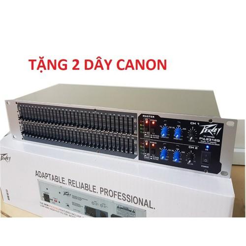 Lọc xì âm thanh cao cấp peavay 231 tặng rack canon
