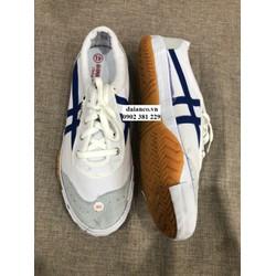 Giày vải bata trắng sọc xanh, thể dục, thể thao, công nhân - chính hãng Bình Minh