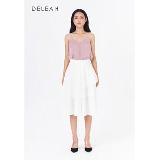 De Leah - Áo 2 Dây Cúc Bọc - Thời trang thiết kế - A1923061Hd thumbnail