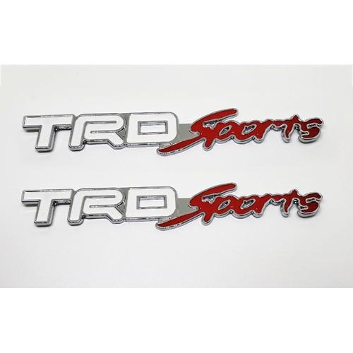 Bộ  2 tem kim loại chữ trd sport cho xe ô tô - 12390409 , 20170370 , 15_20170370 , 99000 , Bo-2-tem-kim-loai-chu-trd-sport-cho-xe-o-to-15_20170370 , sendo.vn , Bộ  2 tem kim loại chữ trd sport cho xe ô tô