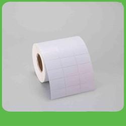 Tem mã vạch 2 hàng decal nhiệt 3 hàng nhãn in nhiệt không cần dùng mực hàng đôi và hàng ba