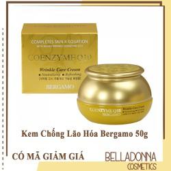 Kem Chống Lão Hóa Bergamo Coenzyme Q10 Wrinkle 50g