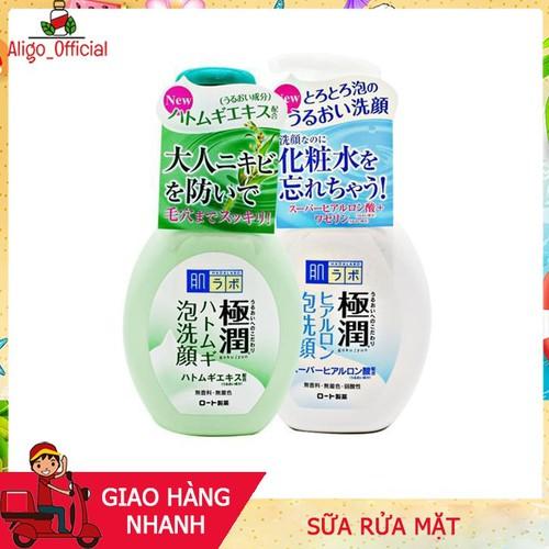 Sữa rửa mặt HadaLabo Gokujyun Foaming Cleanser tạo bọt chai 160ml Nhật Bản,làm sạch sâu,trị mụn,cấp ẩm và dưỡng da sữa rửa mặt, sữa rửa mặt, sữa rửa mặt, sữa rửa mặt, sữa rửa mặt, sữa rửa mặt, sữa rửa - 10644633 , 20147924 , 15_20147924 , 300000 , Sua-rua-mat-HadaLabo-Gokujyun-Foaming-Cleanser-tao-bot-chai-160ml-Nhat-Banlam-sach-sautri-muncap-am-va-duong-da-sua-rua-mat-sua-rua-mat-sua-rua-mat-sua-rua-mat-sua-rua-mat-sua-rua-mat-sua-rua-mat-sua-rua-m