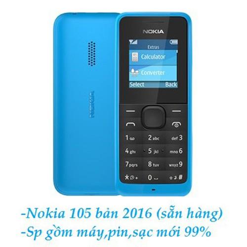Điện thoại nokia 105 1 sim 2016 chính hãn cũ