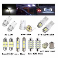 Combo 14 Đèn Led T10 Nội Thất Ô Tô
