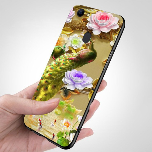 Ốp kính cường lực cho điện thoại oppo f5 - chim công phượng ms cphuong064