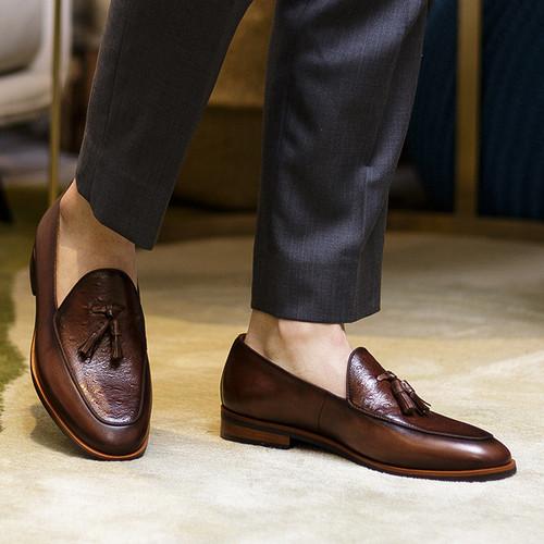 Giày lười nam doanh nhân bigbang 91178