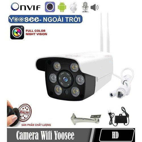 Camera ip wifi ngoài trời yoosee 216s 1080p kèm thẻ nhớ 32gb