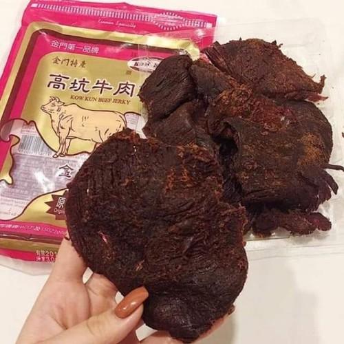 Hàng mới về - thịt bò khô kow kun đài loan