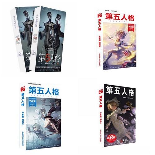 Postcard identity v nhân cách thứ 5 hộp ảnh bộ ảnh có ảnh dán sticker lomo bưu thiếp anime