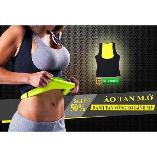 Xả hàng bán lỗ áo sinh nhiệt giảm cân