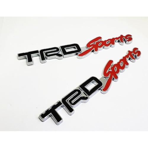 Bộ  2 tem kim loại chữ trd sport cho xe ô tô - 12407121 , 20193271 , 15_20193271 , 99000 , Bo-2-tem-kim-loai-chu-trd-sport-cho-xe-o-to-15_20193271 , sendo.vn , Bộ  2 tem kim loại chữ trd sport cho xe ô tô