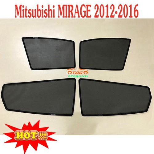 Bộ rèm che nắng kính ô tô theo xe - mitsubishi mirage 2012-2016