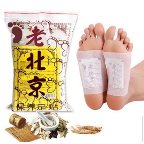 Combo 30 miếng dán chân thải độc hàng chính hãng