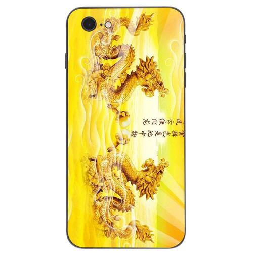 Ốp điện thoại kính cường lực cho máy iphone 7  -  8 - long phượng ms lphuong054