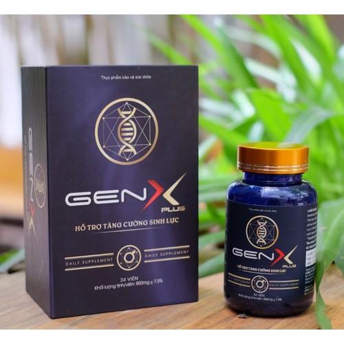 Gen x plus  viên uống tăng cường sinh lý nam giới