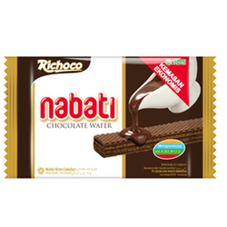 Túi 10 Gói Bánh Xốp Nabati Socola 20g
