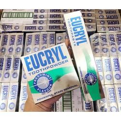 Kem đánh răng và bột trắng răngbột trắng răng Eucryl