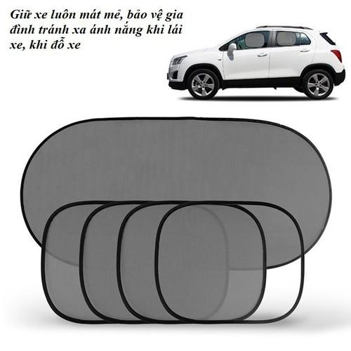 Bộ chống nắng ô tô 5 món tiện lợi làm mát xe