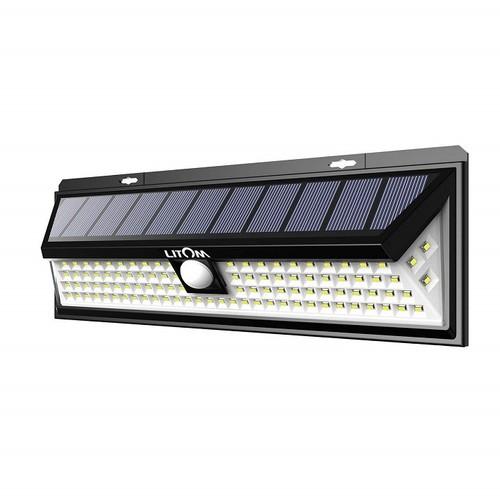 Đèn LED năng lượng mặt trời siêu sáng ngoài trời cảm biến chuyển động LITOM