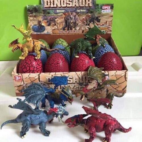 Bộ 12 trứng khủng long