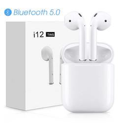 Tai nghe BlueTooth I12 TWS Popup điều khiển bằng cảm ứng