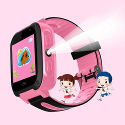 Đồng hồ định vị trẻ em S4 phiên bản tiếng Việt, Đồng hồ định vị có Camera, Đèn pin, chống nước nhẹ. Đồng hồ thông minh trẻ em, đồng hồ trẻ em