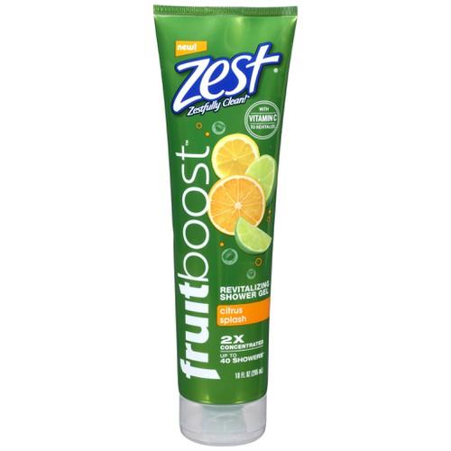 Sữa tắm zest fruit boost shower gel citrus splash vitamin c 295ml