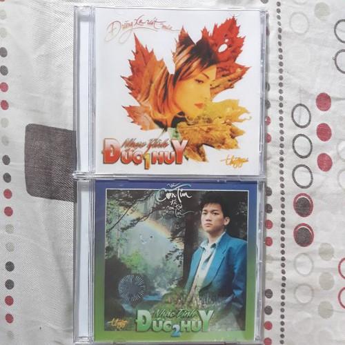 Bộ 2 CD nhạc tình Đức Huy Mitsu phono