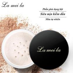 [CHÍNH HÃNG] Phấn phủ dạng bột La Mei La siêu mịn kiềm dầu màu tự nhiên 6g AH-PP06