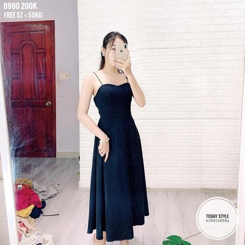 Đầm nữ trễ vai