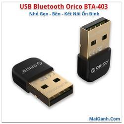 USB Bluetooth 4.0 Orico BTA-403 - Nhỏ Gọn - Bền - Kết nối ổn định