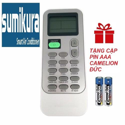 Remote máy lạnh sumikura mẫu 4 - điều khiển điều hòa sumikura - 12408136 , 20194457 , 15_20194457 , 99000 , Remote-may-lanh-sumikura-mau-4-dieu-khien-dieu-hoa-sumikura-15_20194457 , sendo.vn , Remote máy lạnh sumikura mẫu 4 - điều khiển điều hòa sumikura
