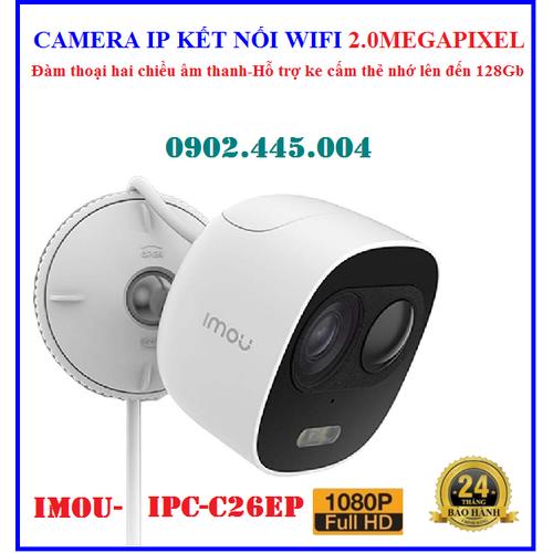 Camera ip 2mp imou-ipc-c26ep, kết nối wifi xem qua điện thoại, hỗ trợ khe gắn thẻ nhớ lên đến 128gb, bảo hành 2 năm - 12403902 , 20188569 , 15_20188569 , 1290000 , Camera-ip-2mp-imou-ipc-c26ep-ket-noi-wifi-xem-qua-dien-thoai-ho-tro-khe-gan-the-nho-len-den-128gb-bao-hanh-2-nam-15_20188569 , sendo.vn , Camera ip 2mp imou-ipc-c26ep, kết nối wifi xem qua điện thoại, hỗ