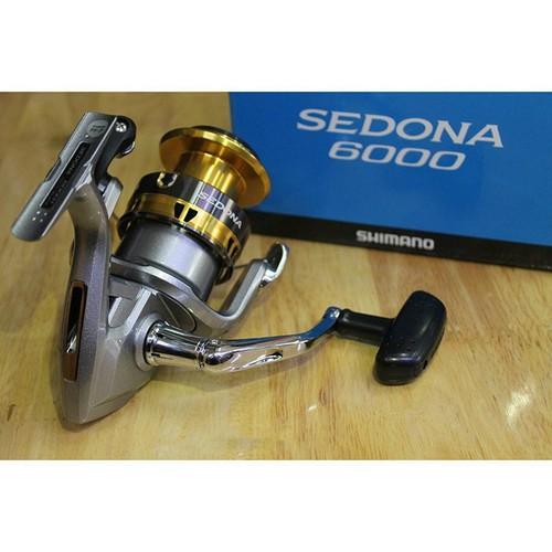 Máy câu shimano sedona 6000- đồ câu cá đức nguyên
