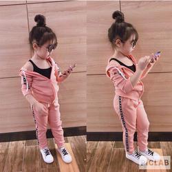 [SIÊU SALE] Bộ quần áo khoác thể thao đáng yêu cho bé gái, bé trai  từ 7-40 KG