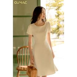 Đầm tay xếp đính ngọc GUMAC MS08997_TRANG