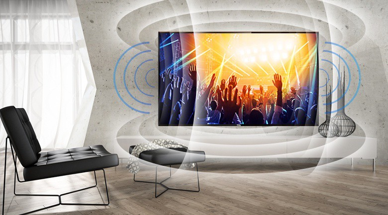 Chất lượng âm thanh sống động trên Tivi TCL 32 inch L32D3000