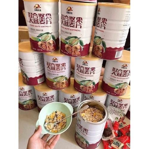 Ngũ cốc MIXED NUTS OATMEAL - 10645084 , 20189574 , 15_20189574 , 199000 , Ngu-coc-MIXED-NUTS-OATMEAL-15_20189574 , sendo.vn , Ngũ cốc MIXED NUTS OATMEAL