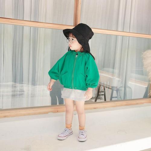 Áo khoác phao nhẹ thời trang cho bé gái