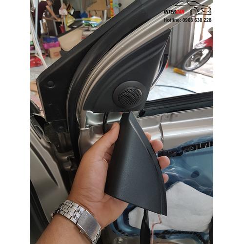 Lắp loa treble xe toyota vios 2014 – 2017