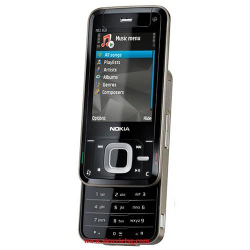 Điện thoại nokia n81 8gb nắp trượt