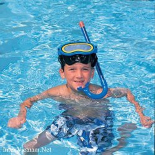Kính bơi có ống thở kute giá tốt