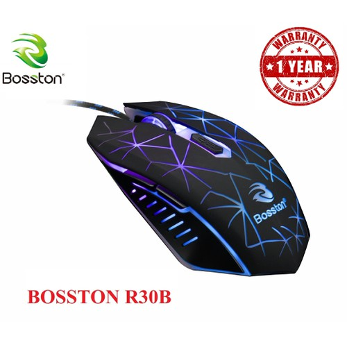 Chuột gaming mouse bosston r30a-r30b led