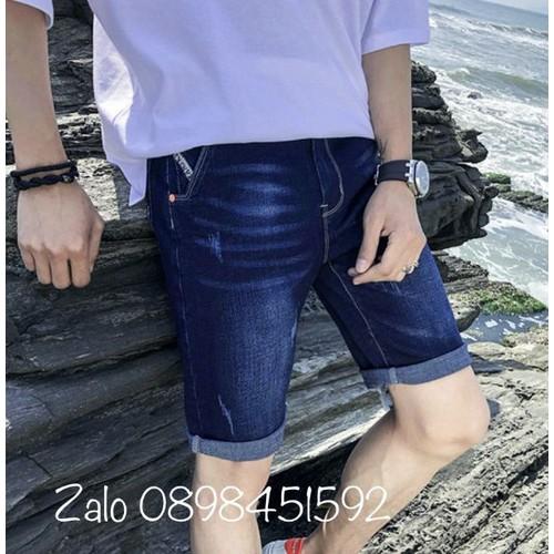 Quần shorts jean nam thời trang - 12429223 , 20225452 , 15_20225452 , 135000 , Quan-shorts-jean-nam-thoi-trang-15_20225452 , sendo.vn , Quần shorts jean nam thời trang