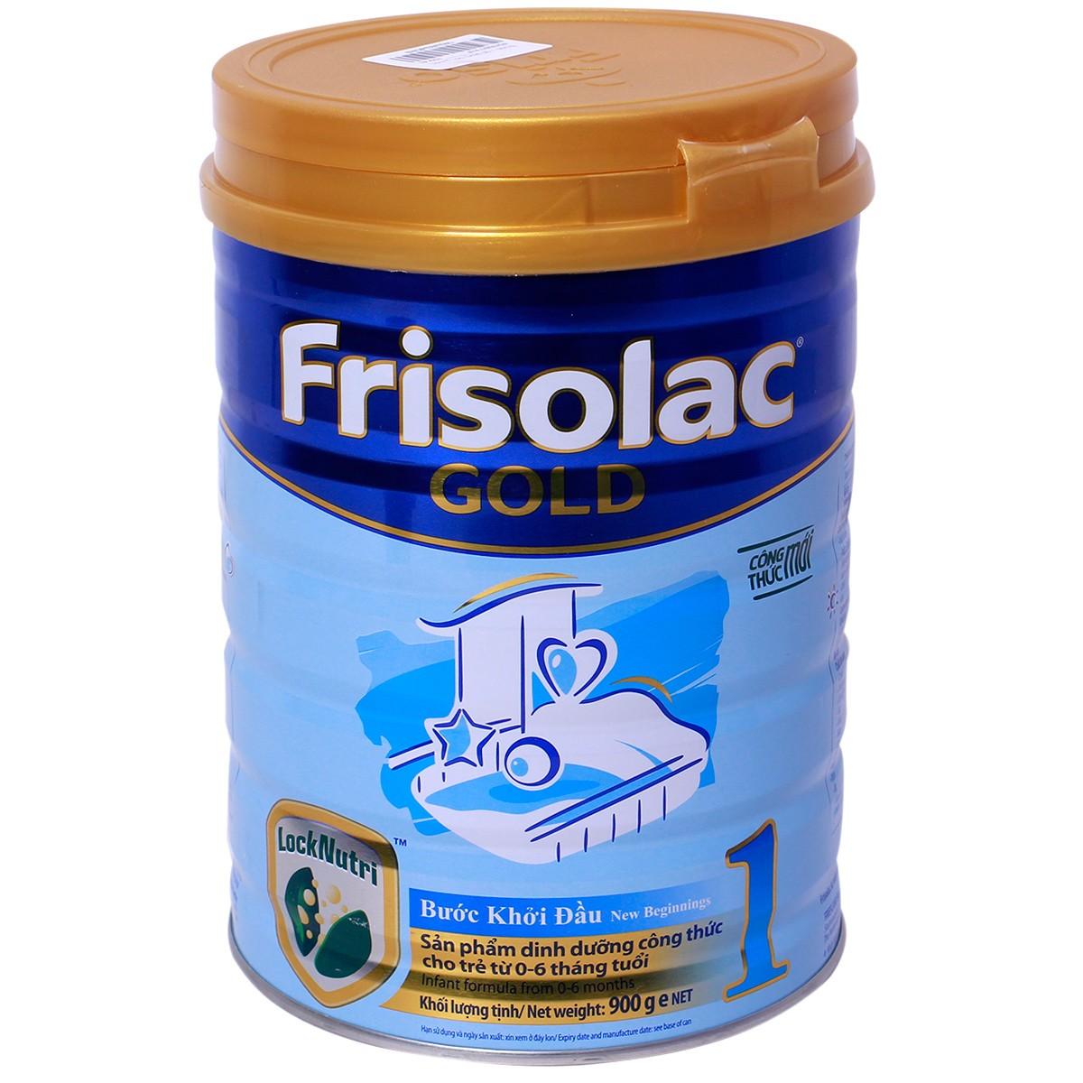 Sữa Frisolac Gold số 1,2,3,4, mom 400g, 900g, 1,5kg