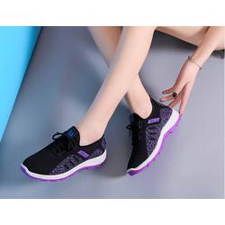 Giày nữ màu tím đế tím cực chất thời trang