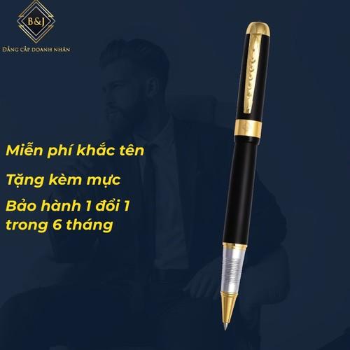 Khắc tên miễn phí tặng kèm ống mực miễn phí  bút dạ bi phủ sơn đen mờ khác biệt bj014 dành cho doanh nhân, khẳng định đẳng cấp cá nhân, ngòi viết 0.5mm, bút mực dầu, sơn nhám - 12435999 , 20236117 , 15_20236117 , 390000 , Khac-ten-mien-phi-tang-kem-ong-muc-mien-phi-but-da-bi-phu-son-den-mo-khac-biet-bj014-danh-cho-doanh-nhan-khang-dinh-dang-cap-ca-nhan-ngoi-viet-0.5mm-but-muc-dau-son-nham-15_20236117 , sendo.vn , Khắc tên m
